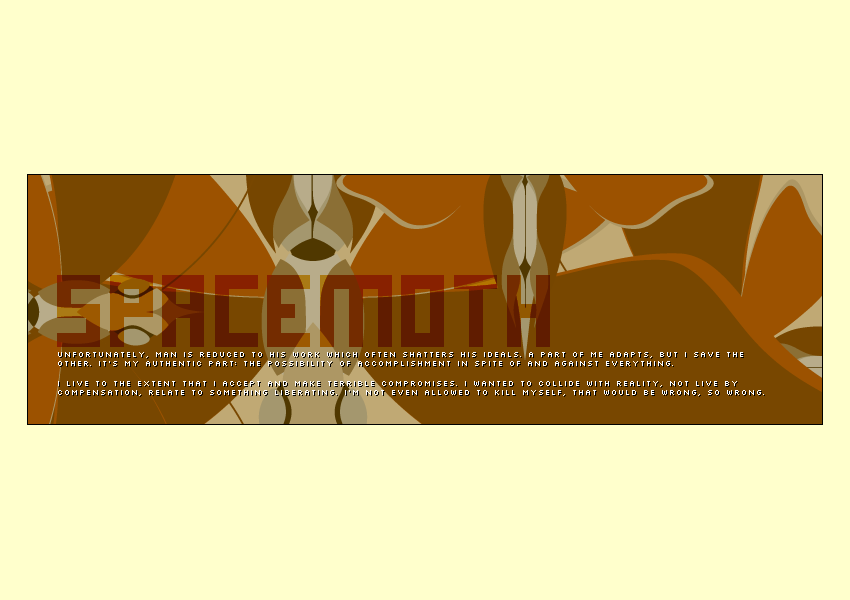 Space Moth Screen 7