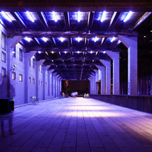 At Night on the Highline